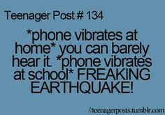 YES!!!!! And the teacher happens to be near you when it happens ALWAYS -.\ #TeenagerPost #TeenagersOnly