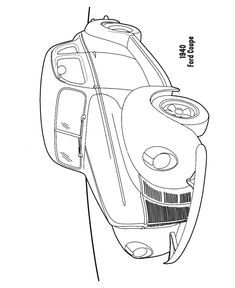 Wow, cars and automobiles coloring pages