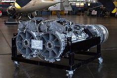 Allison T40 turboprop engine, circa 1944