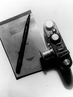 A. Rodchenko.Still life with Leica, 1930