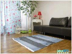 cool jeans carpet photo tutorial #sewing #tutorial