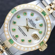 Beautiful white Rolex watches with metal belt for girls and woman. Beautiful white Rolex watches with metal belt for girls and woman. Beautiful white Rolex watches with metal belt for. Rolex Watches For Men, Seiko Watches, Luxury Watches, Woman Watches, Female Watches, Cool Watches For Women, Rolex Diamond Watch, Diamond Watches, Rolex President