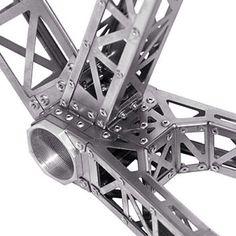 Riveted titanium bike II