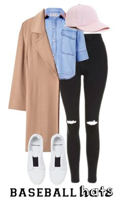 """""""Gomezbaseballhats"""" by gomezel on Polyvore featuring Topshop, Être Cécile, Winser London, Urban Outfitters and Pierre Hardy"""