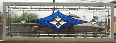 Stained Glass Window/ Geometric And Elegant Design