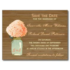 =>quality product          Country Rustic Mason Jar Hydrangea Save the Date Post Cards           Country Rustic Mason Jar Hydrangea Save the Date Post Cards in each seller & make purchase online for cheap. Choose the best price and best promotion as you thing Secure Checkout you can trust Buy ...Cleck Hot Deals >>> http://www.zazzle.com/country_rustic_mason_jar_hydrangea_save_the_date_postcard-239184905656479347?rf=238627982471231924&zbar=1&tc=terrest