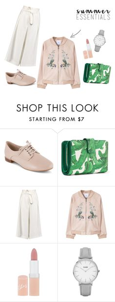 """""""Summer Vibes"""" by reinnisamel on Polyvore featuring Clarks, Dolce&Gabbana, Amanda Wakeley, MANGO, Rimmel and Topshop"""