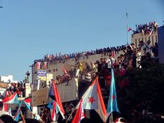 Thousands Rally In Mukalla, Hadhramout South Yemen, Rally, The Twenties, Southern