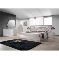 J&M Furniture Florence Panel Customizable Bedroom Set & Reviews   Wayfair