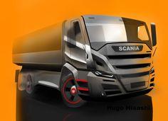Proposta Scania by H-hissashi on DeviantArt