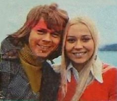 View image: Young Agnetha and Bjorn3