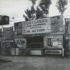 Old Carnivals. Creepy.