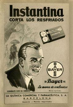 Anuncio de Bayer de 1950
