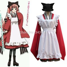 Find More Clothing Information about Free Shipping! Gugure! Kokkuri san Tama Cosplay Costume, Custom maid dresses ,maid lolita apron bowtie uniform set,High Quality apron oven mitt set,China apron waterproof Suppliers, Cheap apron set from anime costumes supermarket on Aliexpress.com