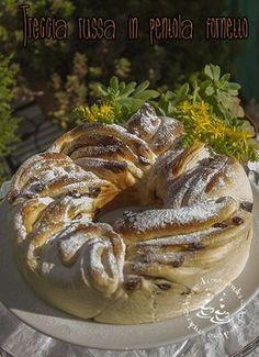 Credo che tutti ormai conosciate questo splendido lievitato che ha la consistenza, la morbidezza e la sofficità di un panettone, deliz... Torta Zebra, Cake Recipes, Dessert Recipes, Braided Bread, Italian Cake, Torte Cake, Vintage Cooking, English Food, Sweet Cakes
