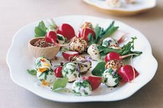Pickled quail eggs with chilli and herbs - Recipes - delicious.com.au