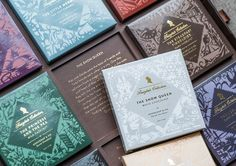 Experience your favorite childhood fairytales all over again with The  Fairytale Collection, designed by Bessermachen Design Studio. We spoke with  the agency to learn more about what inspired these gorgeous boxes of  chocolate, why they chose to do paper cut illustrations, the emotions that  dr