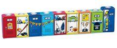 Ceramic Sports Menorah  #Hanukkah #Menorah #ChildrensMenorah #KidsMenorah #HanukkahGift