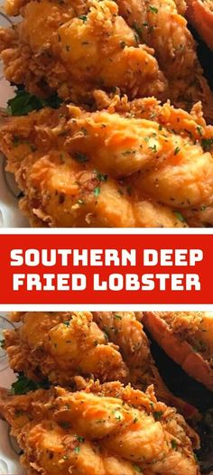 Lobster Dishes, Lobster Recipes, Seafood Recipes, Deep Fried Lobster Tail Recipe, Lobster Bites Recipe, Deep Fried Shrimp, Cooking Lobster Tails, Shrimp Recipes For Dinner, Seafood Dinner
