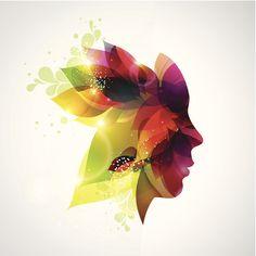 """Rostro de #mujer """"maquillado"""" con sufrimientos, alegrías y esperanzas"""