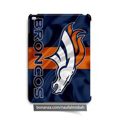 Denver Broncos Ruffles Silk iPad Air Mini 2 3 4 Case Cover