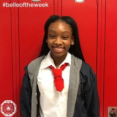 Imani McGregory, Red Tie '19, is our #belleoftheweek! Imani has been hard at work demonstrating academic strength in our Health Careers Program with a GPA well over 4.0. Along with strong academic success, Imani is a starting shooting guard for SMA's Varsity Basketball team averaging 13 points per game, giving true meaning to the term scholar athlete. Imani and her team prepare for playoffs this week after solidifying a Camino Real League Championship going undefeated with a record of 8-0.