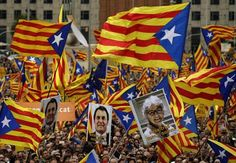 BARCELONA, Spain (AP) — Thousands of Catalan separatists gathered in Barcelona on Sunday to protest a series of legal challenges made by Spain's government against pro-independence Catalan politicians. Several of Catalonia's…