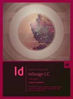 Adobe CC 2014 InDesign Splash Screen