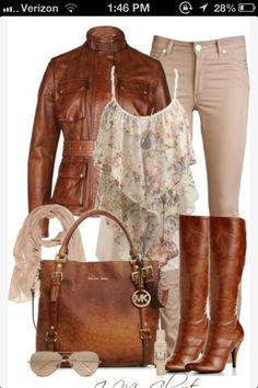 Brown Fall Oufit