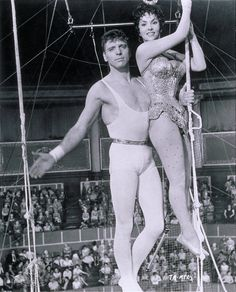 Burt Lancaster & Gina Lollobrigida in Trapeze (1956)
