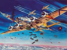 B-17G Flying Fortress 'A Bit O'Lace' by Roy Cross (classical Airfix box art!)