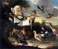 Hoy también (y desde 1998) es el Día Internacional de los Derechos de los Animales. Declaración Universal de los Derechos de los Animales: http://www.me.gov.ar/efeme/diaanimal/derecho.html. («Aves cantando a partir de una partitura», Melchior d'Hondecoeter, 1670.) http://www.veniracuento.com/
