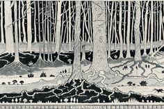 J.R.R. Tolkien's Illustrations for 'The Hobbit' (Slideshow) - Speakeasy - WSJ