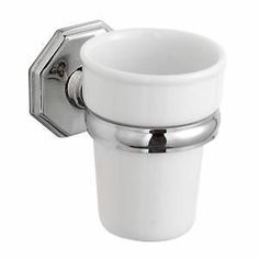 toothbruh holders   ... Ceramic-Bathroom-Tumbler-Wall-Hung-Toothbrush-Holder-Traditional-Style