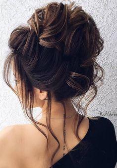 40 Stuning Long Curly Wedding Hairstyles from Nadi Gerber | Deer Pearl Flowers - Part 2