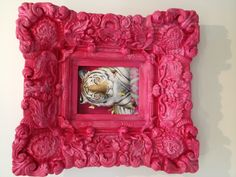 Tiger in pink  Gingerfoxgallery.com