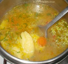 Jacque Pepin, Soups And Stews, Thai Red Curry, Good Food, Appetizers, Food And Drink, Cooking Recipes, Sweets, Dinner