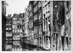 Oudezijds Achterburgwal Amsterdam (jaartal: 1920 tot 1930) - Foto's SERC