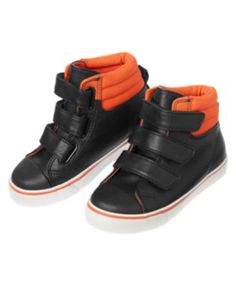 crazy 8  orange and black