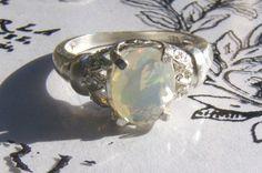 opal ring! BEAUTIFUL!