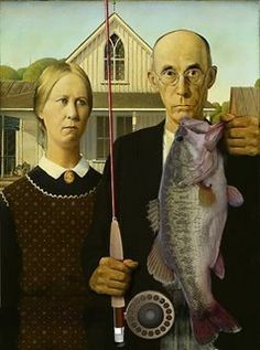 American Gothic 68️More Pins Like This At #FOSTERGINGER @ Pinterest️