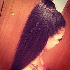 Sleek ponytale