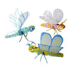 Marqueurs Posca, petites bêtes et autres papillons