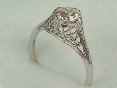 Antique Art Nouveau to Art Deco 14k Gold by jewelry1910studio, $750.00