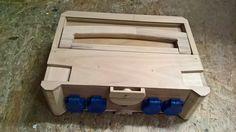 Festool-Systainer Verlängerungskabel Fertig Festool Systainer, Cupboard Storage, Tool Storage, Wood Tools, Diy Tools, Woodworking Shop, Woodworking Projects, Shop Organization, Garage Workshop