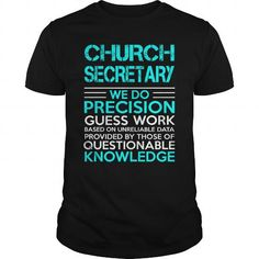 CHURCH SECRETARY - WEDO OLD T-Shirts, Hoodies (22.99$ ==► Order Here!)