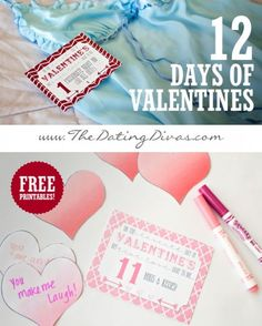 The 12 Days of Valentines- LOOOVE this!!  www.TheDatingDivas.com