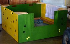 Whelping Box Construction Plans Welping Box, Boxes, Dog Whelping Box, Dog Birth, Labradoodle, Dog Stuff, Curly Hair, Toy Chest, Fur Babies