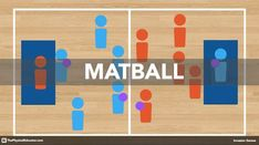 Matball is a Standards-based Invasion game that is suitable for Kindergarten and Elementary school PE programs. It creates a fun, competitive environment that encourages students to push themselves to succeed. It can be used to introduce and reinforce con Physical Education Activities, Elementary Physical Education, Pe Activities, Health And Physical Education, Activity Games, Health Class, Fitness Activities, Physical Fitness, Gym Games For Kids