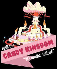 Candy Kingdom... U kno u want to go. This is prime postcard envy